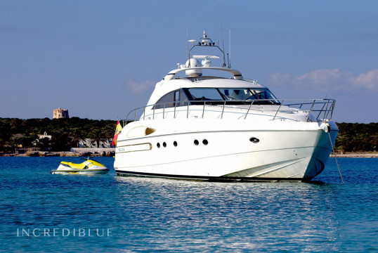 Прокат моторных яхт Princess V65, Port d'Eivissa, Ибица