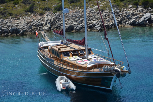 Gulet rent Bodrum Ship Yard 24M in Port d'Eivissa, Ibiza