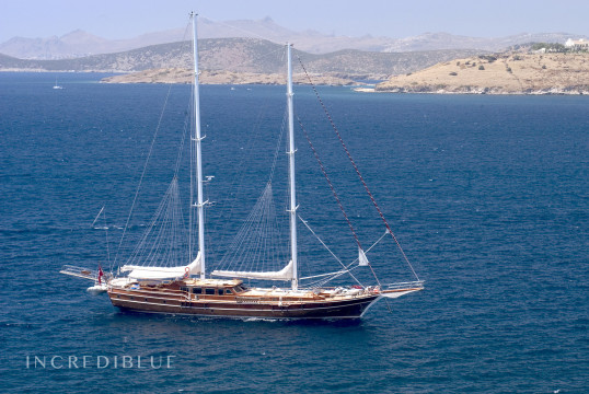 Gulet rent Pruva yachting 35M in Port d'Eivissa, Ibiza