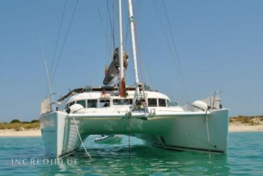 Catamaran rent Lagoon 470 in Port de Sant Antoni, Ibiza