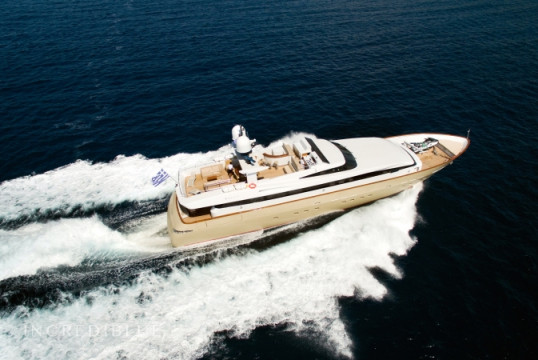 Yacht rent Baglietto 111 in Athens Marina, Athens