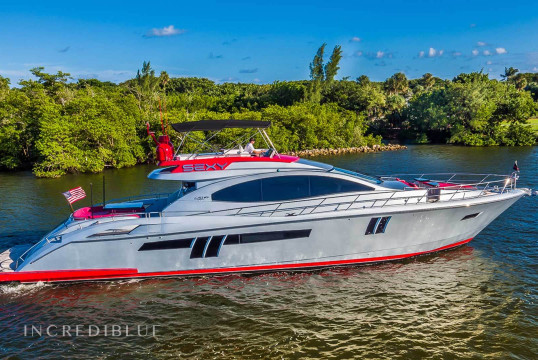 Yacht rent Lazzara  78 LSX in Miami Beach, South Florida