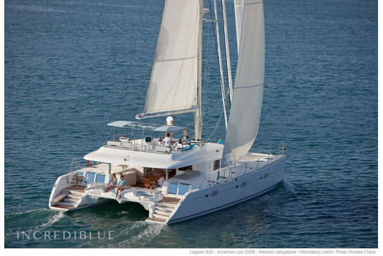 Huur catamaran Lagoon  620 Crewed in Harbour View Marina Marsh Harbour, Abacos