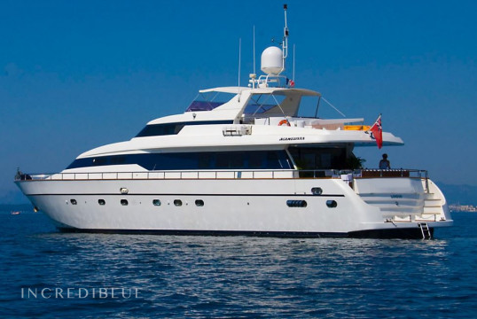 Yacht rent Mangusta 85 in Port de Cannes, Alpes Maritimes - Cannes