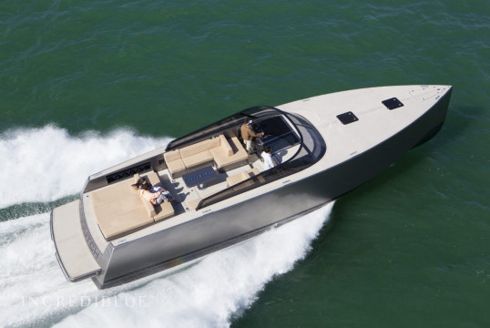 Motorboat rent VanDutch 55 in Port Pierre Canto, Alpes Maritimes - Cannes
