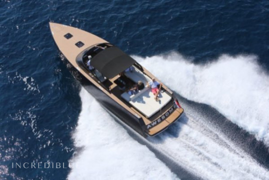 Huur motorboot VanDutch 40 in Port Pierre Canto, Alpes Maritimes - Cannes