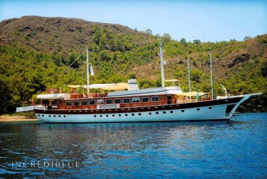 Gulet rent Goleta WG TO 003 in Milta Marina, Bodrum