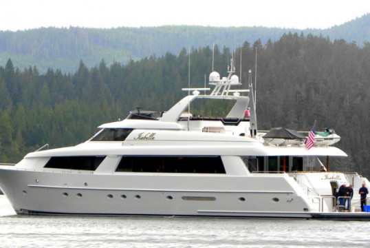Ενοικίαση mega yacht Westport  118 Feet μέσα Port Angeles, Washington