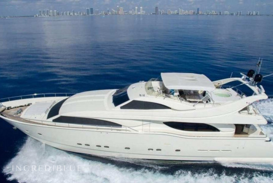 Yacht rent Ferretti 94 feet in Newport, Rhode Island