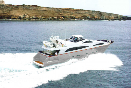 Yacht rent Astondoa 95' in Port d'Eivissa, Ibiza