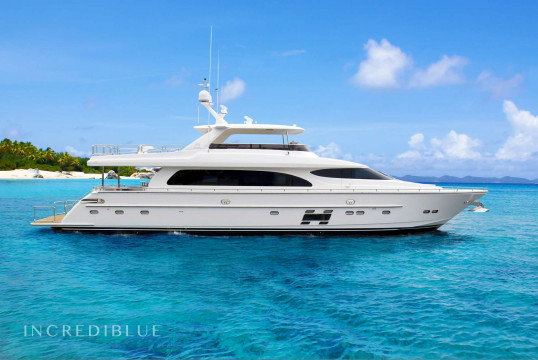 Yacht rent Horizon 28.70m in Yacht Haven Marina, Nassau
