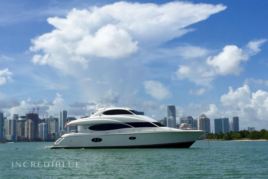 Yacht rent Lazzara  84 feet in Downtown Miami, South Florida
