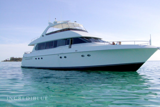 Ενοικίαση mega yacht Lazzara  76ft μέσα Daytona Beach, Central Florida
