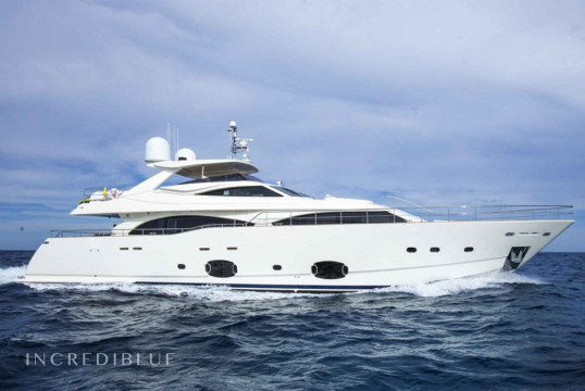 Yacht rent Ferretti 100 in Miami Beach, South Florida