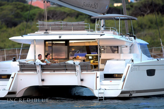 Catamaran rent Fountaine Pajot Saba 50 in Puerto de Palma, Mallorca