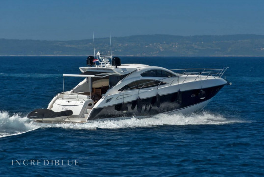 Huur jacht Sunseeker International Sunseeker Predator 62 - 3 + 1 cab. in Marina Lav, Split en Hvar