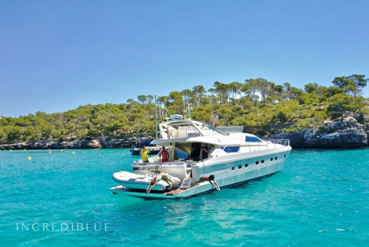 Yacht rent Ferretti 175 Fly in Cala d'Or, Mallorca