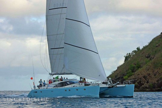 Catamaran rent privilege 65.5 in East End, British Virgin Islands