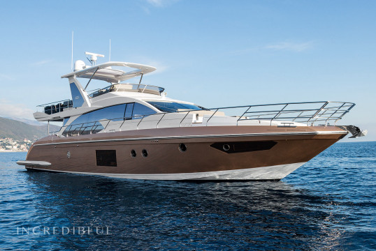 Yacht rent Azimut 66 in Club Náutico Cartagena, Cartagena