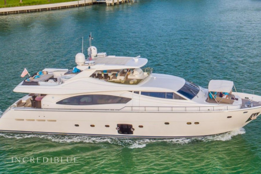 Yacht rent Ferretti 88 in Yacht Haven Marina, Nassau
