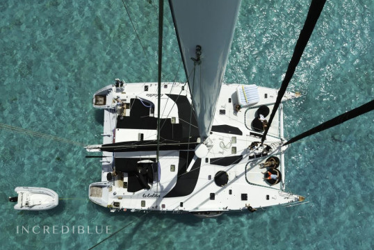 Catamaran rent privilege 65 in Ile de Saint Martin, Saint Martin