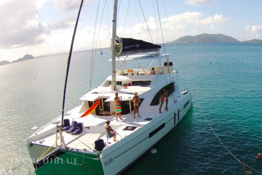 Catamaran rent Leopard 58 in Nanny Cay Marina, British Virgin Islands