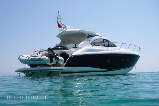 Motorboat rent Sunseeker International Sunseeker Portofino 47 in Lavrio Port, Athens
