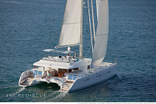 Catamaran rent Lagoon  620 Crewed in Cala Nova, Mallorca