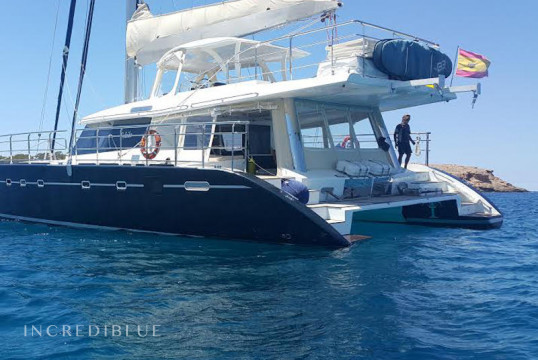 Huur catamaran Sunreef Yachts  62  in Port d'Eivissa, Ibiza