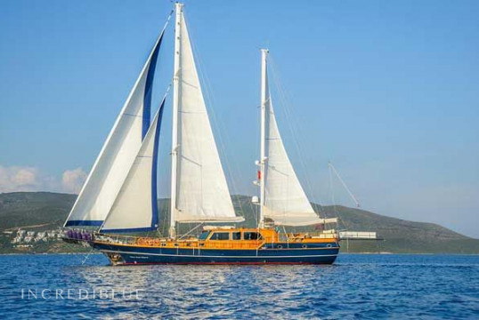 Sailing boat rent Gulet high delux in Yes Marina, Fethiye