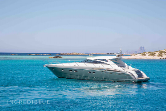 Yacht rent Princess  V58 in Port d'Eivissa, Ibiza