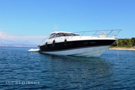 Прокат моторных яхт Princess Yachts Princess V58, ACI Marina Split, Сплит, Хвар