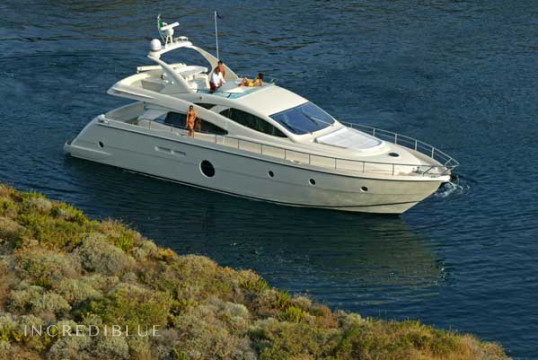 Yacht rent Aicon  64 Fly in Marina Kalamaki, Athens