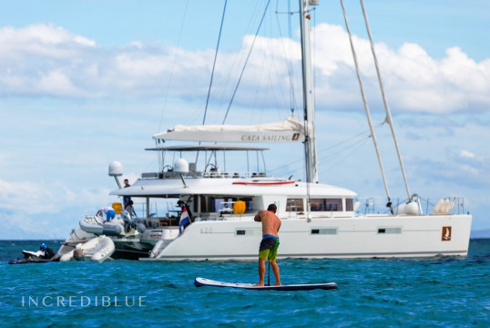 Huur catamaran Lagoon  620 Luxury in Port Trogir, Split en Hvar