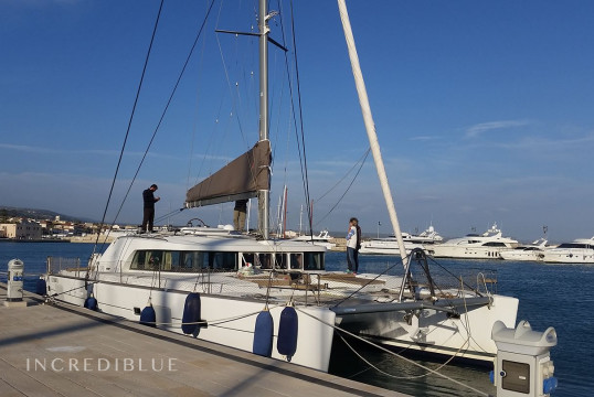 Catamaran rent Lagoon 500 in Capo D'Orlando, Sicily