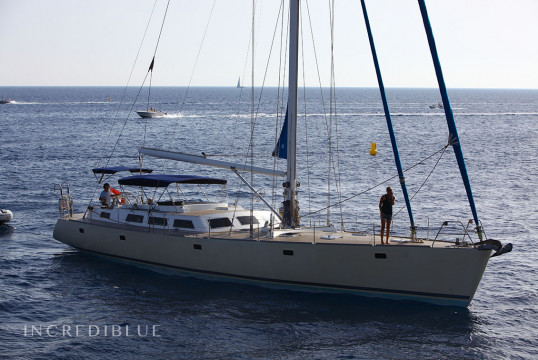 Sailing boat rent Monocasco 70 pies in Port d'Eivissa, Ibiza