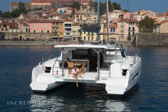 Catamaran rent Catana Bali 4.5 Open Space in Port de Sant Antoni, Ibiza