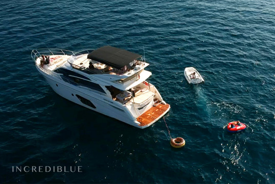 Прокат моторных яхт Absolute   52 Fly, Port Vell, Барселона