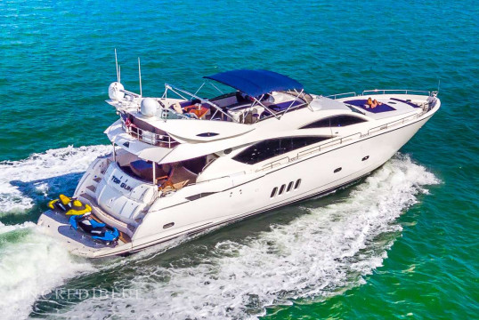 Yacht rent Sunseeker 82' in Miami Beach, South Florida