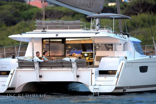 Catamaran rent Fountaine Pajot Saba 50 in Marina di Portorosa, Sicily