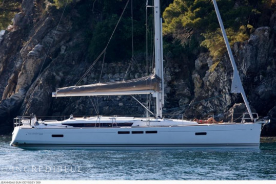 Sailing boat rent Jeanneau Sun Odyssey 509 - 5 cab. in Lavrio Port, Athens