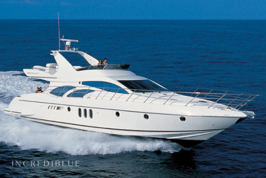 Прокат моторных яхт Azimut 62 Evolution, Port of Kyllini, Пелопоннес