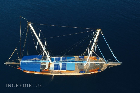 Sailing boat rent Gulet Ketch in Milta Marina, Bodrum