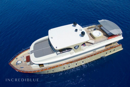 Yacht rent Custom 25m in Milta Marina, Bodrum
