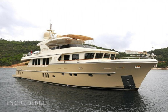 Yacht rent Custom 28.70m in Milta Marina, Bodrum