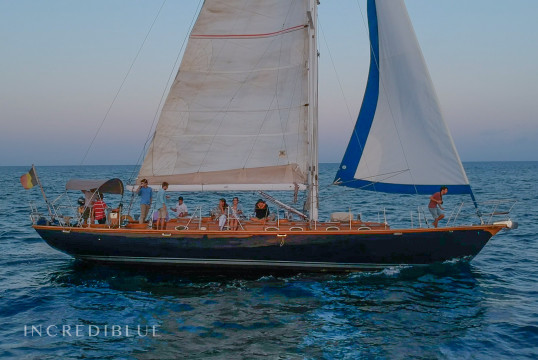Sailing boat rent Custom made Patrick Chevalier in Port Vell, Barcelona