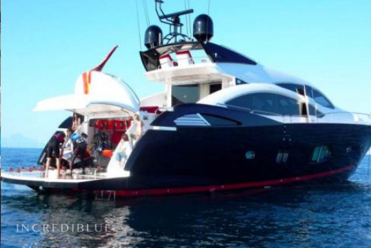 Yacht rent Sunseeker 92 in Port d'Eivissa, Ibiza