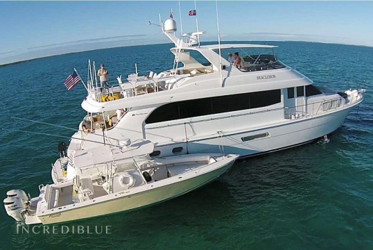 Yacht rent Hatterras Hatteras in Abacos, Bahamas