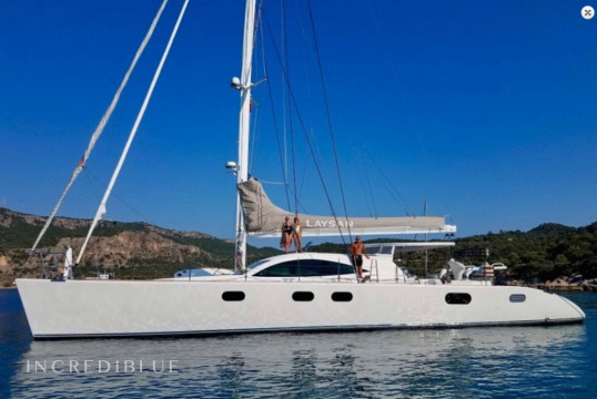 Catamaran rent Serenity Shipyard 22 m in Marina de Canouan Island, Saint Vincent and the Grenadines