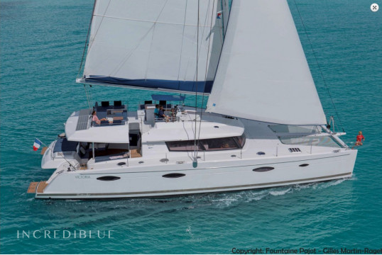 Catamaran rent Fountaine Pajot 20.42m in Yacht Haven Marina, Nassau